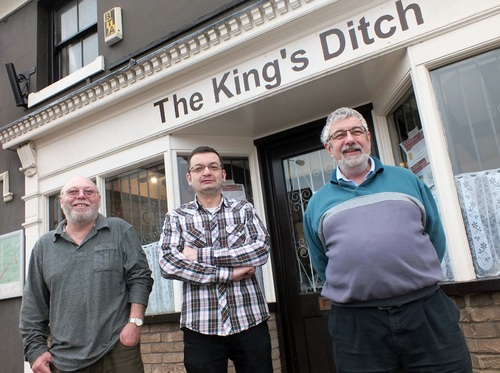 King's Ditch owners
